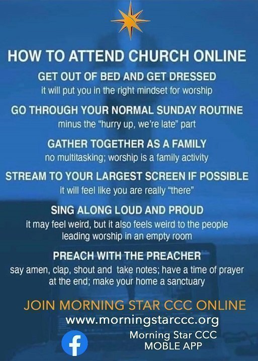 How to Attend Church Online