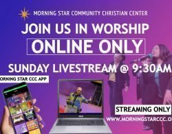 Live Streaming – Starting March 22 @ 9:30AM