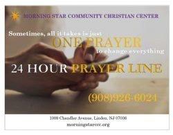 24 Hour Prayer Line