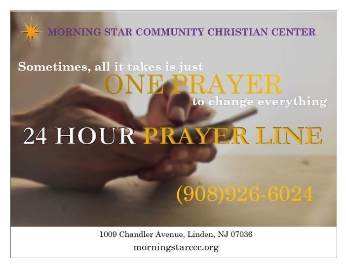 24 Hour Prayer Line